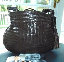 f7a77f6538db item 6 RALPH LAUREN COLLECTION BROWN WOVEN VACHETTA LEATHER HOBO BAG NWT  ITALY  2500+ -RALPH LAUREN COLLECTION BROWN WOVEN VACHETTA LEATHER HOBO BAG  NWT ...