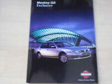 53523) Nissan Maxima QX exclusive Prospekt 05/1998