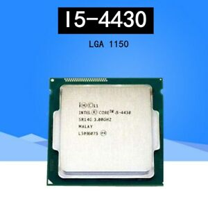 Intel Procesador CPU Core i5-4430 SR14G 3 GHz, 6 MB, 5 GT//s, LGA1150 Quad Core