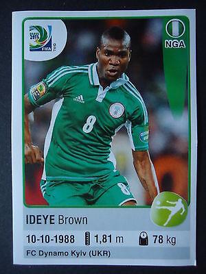 Panini 230 Sunday Mba Nigeria Confed Cup 2013 Brasilien