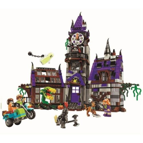 MISTERO DI SCOOBY DOO legoing Mansion Building Block SCOOBYDOO Shaggy Velma Fit NUOVO