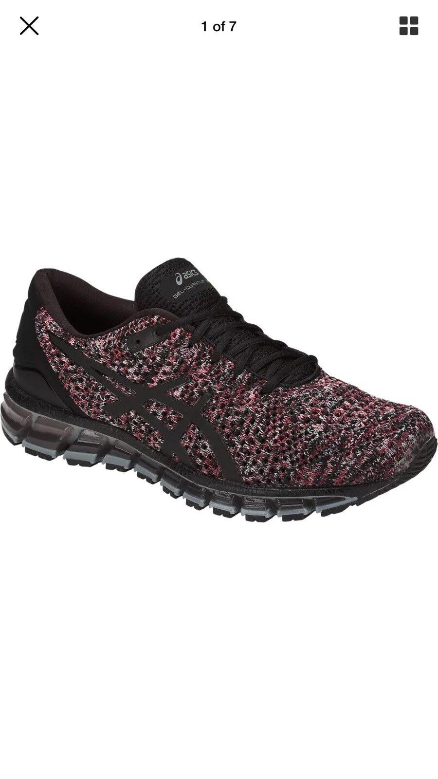 Asics Gel Quantum 360 Knit 2 T840N.9023 Men's Running Shoes 10 M Black Red Grey