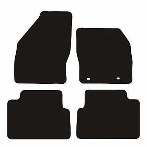 Ford-C-Max-2003-2011-3mm-Black-Checker-Rubber-Tailored-Car-Floor-Mats