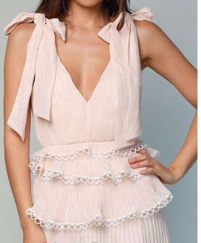 Maat Close Jurk Keepsake In Cream Too Gelegenheid Rrp Ivory Bruids Maxi £ S 252 qI5f5