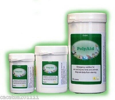 SALE: POLY-AID EMERGENCY NUTRITION FOR BIRDS 80G FROM THE BIRDCARE COMPANY