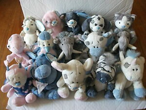 BRAND-NEW-WITH-TAGS-4-034-MY-BLUE-NOSE-FRIENDS-SOFT-TOYS-VARIOUS-RARE-CHARACTERS