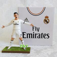 Cristiano Ronaldo #7 High 18cm Real Madrid Soccer Football Figure/Toy Doll White