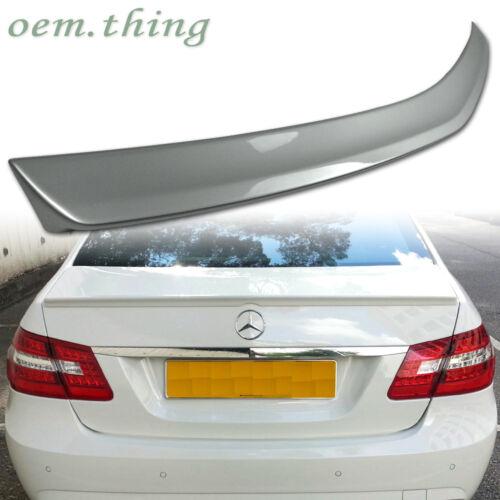 Painted Fit FOR Mercedes Benz E Class W212 4D A Trunk Spoiler E350 E550 E250 E63