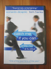 Catch Me If You Can WITH FRANCH DVD 2-Disc Set, Full Frame DiCaprio Tom Hanks
