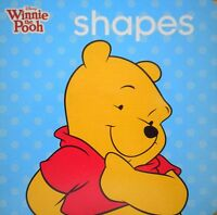 Disney Winnie the Pooh SHAPES baby Board Book Children's EARLY LEARNING