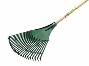 Neilsen Heavy Duty High Quality Garden Lawn Leaf Rake With Handle