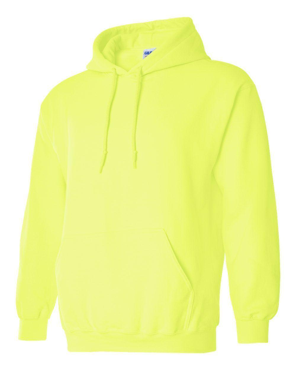 12 Wholesale Gildan Safety Grün Adult Bulk Hoodie Lot S M L XL 2XL 3XL 4XL 5XL