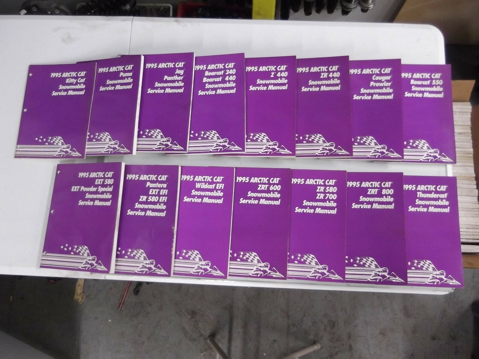 1995 Arctic Cat Service Manual Lot