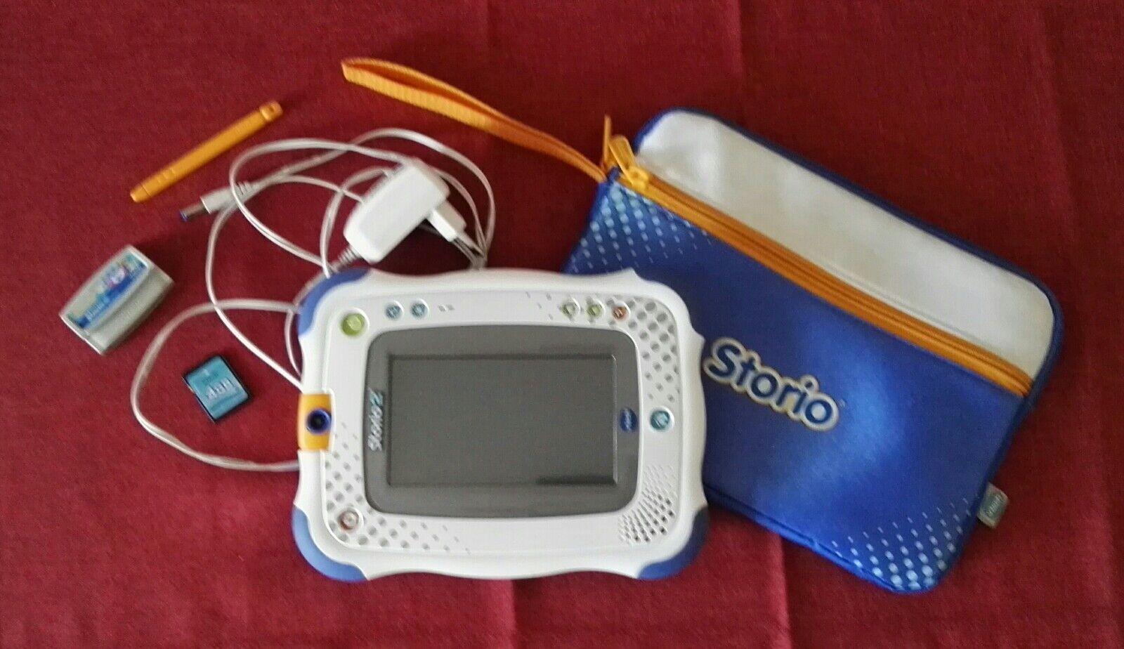 Storio 2 VTech/ 3 Spiele/ Lernspiele Apps/ Netzteil