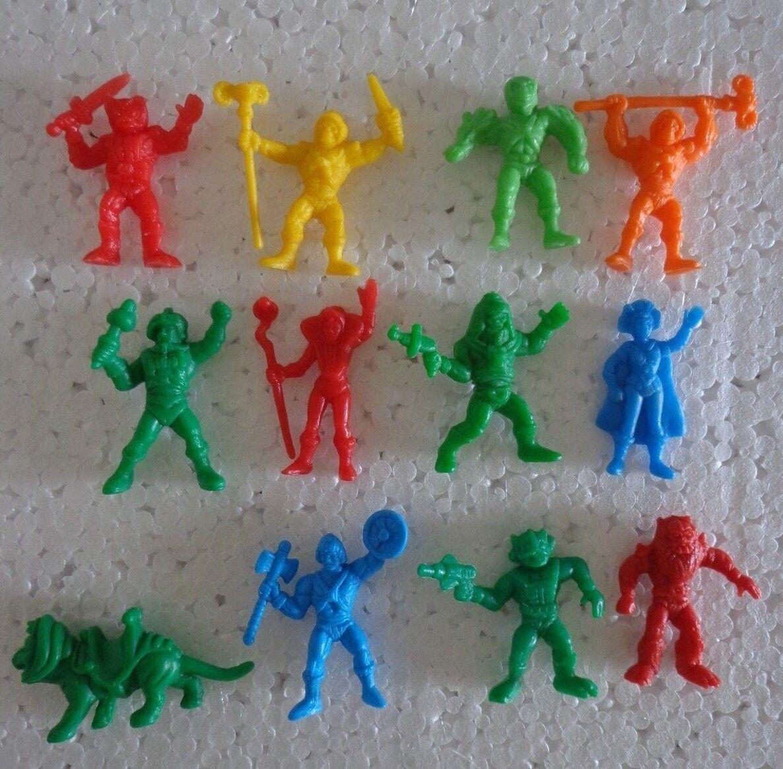 12 premium Dunkin figures HEMAN MOTU 85 Mattel Panrico Masters Universe