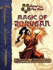 ORIENTAL ADVENTURES MAGIC OF ROKUGAN VF! Kara-Tur Spell Book Dungeons Dragons