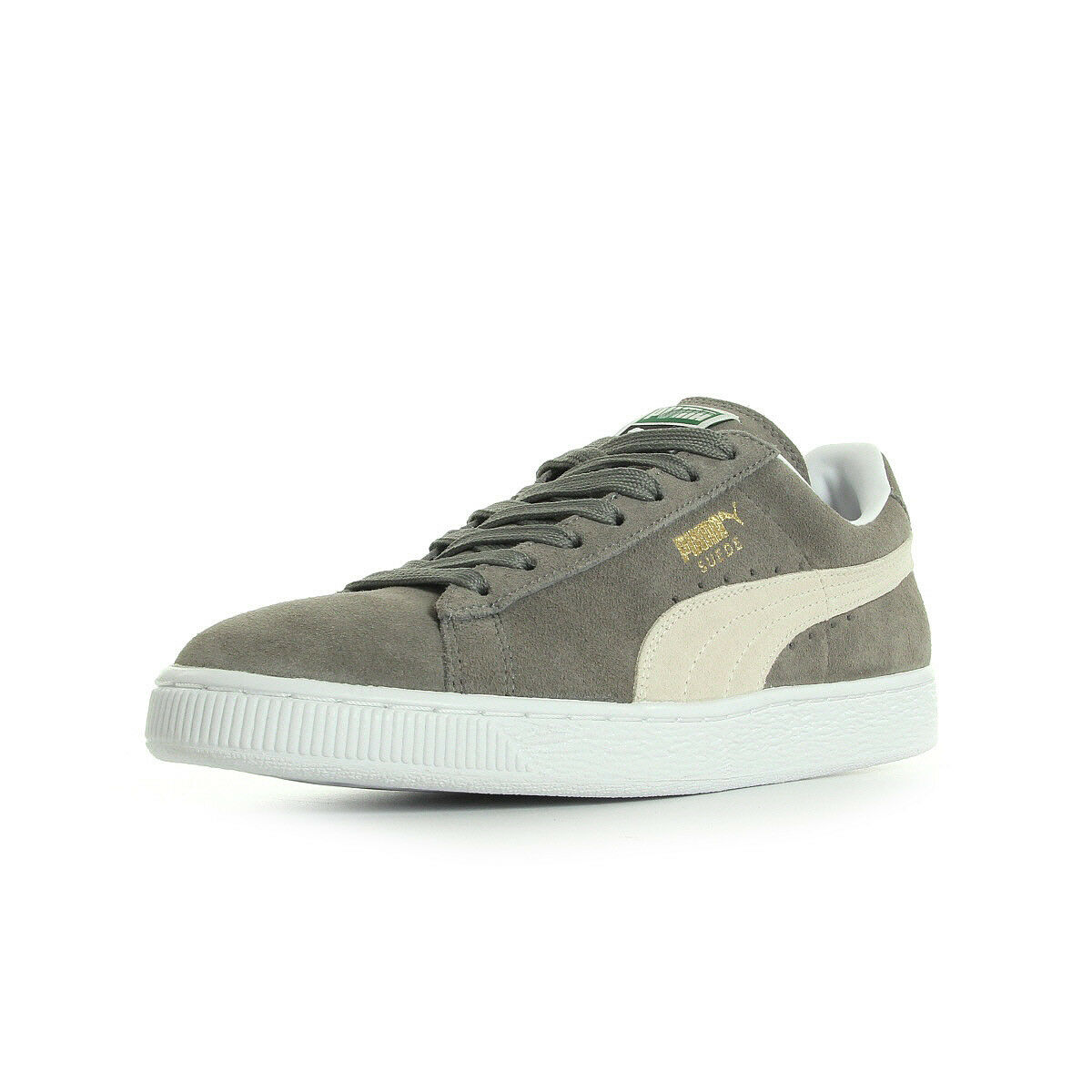 Chaussures Baskets Puma femme Suede Classic + Steeple Gris Blanc taille Gris