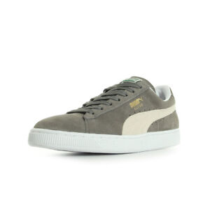 Suede Gray 5jr34al Puma Femme Baskets Classicsteeple White Chaussures m80wNn
