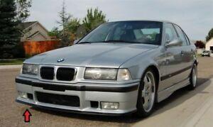 M3-delantal-aleron-labio-para-BMW-E36-M-SPORT-PARACHOQUES-INFERIOR-cenefa-Divisor-barbilla-Trim