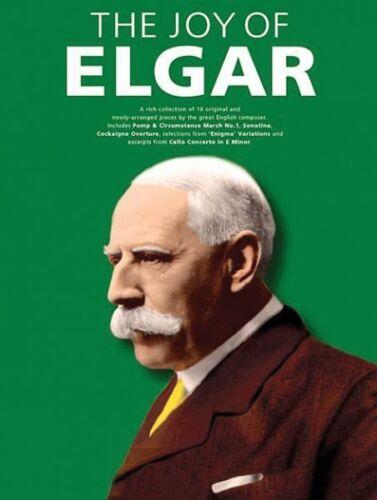 The Joy of Elgar Sheet Music Piano Solo Book NEW 014043438