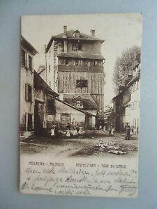 Ansichtskarte-Muellausen-Mulhouse-Teufelsturm-Tour-du-Diable-1906-Elsass