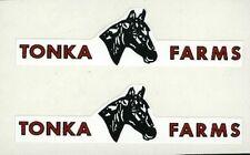 TONKA   HORSE  FARMS  DECAL  SET