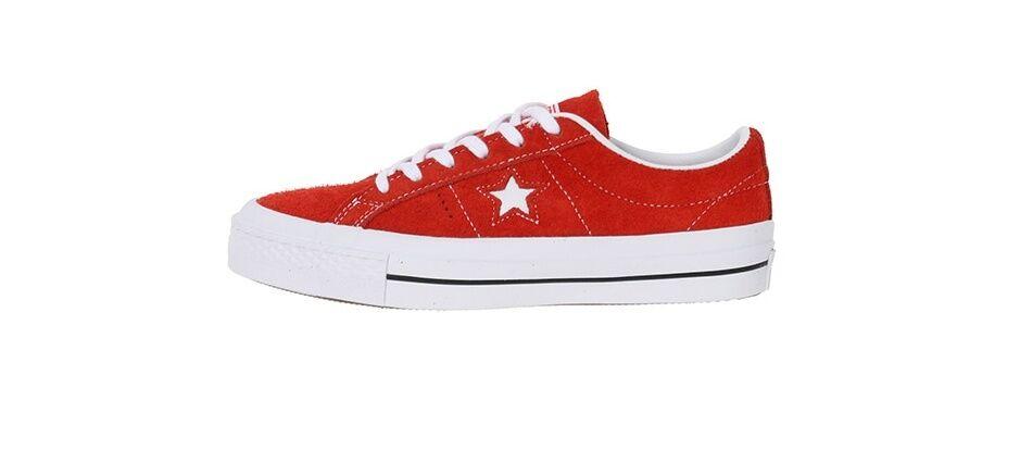 VINTAGE CONVERSE ONE STAR STAR STAR PRO rot 153063C SUEDE herren schuhe Turnschuhe 6c43f8