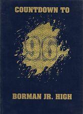 Jr High School Yearbook Borman Junior High School Phoenix Arizona Countdown 1996