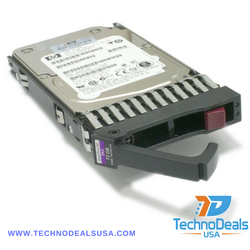 Renewed HP HDD 72GB SAS 15K 2.5