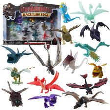 15-teiliges Drachen Set | Mini Spielfiguren | DreamWork Dragons | Battle Dragon