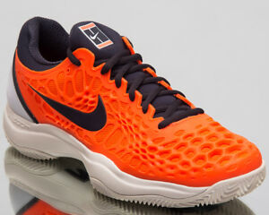 9f062aff0ca1e Nike Air Zoom Cage 3 Clay Sneakers Crimson Gridiron Tennis Shoes ...