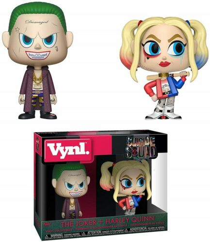 Harley Quinn 2 il Pack Funko POP Suicide Squad-The Joker