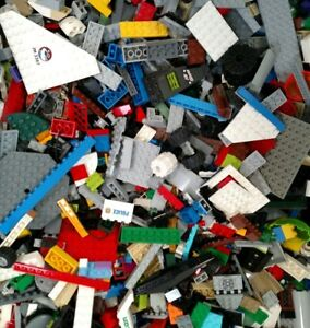 Bulk-Lot-Of-2-Pounds-Lego-Bricks-Pieces-Parts-Ninjago-Star-Wars-City-100-Lego