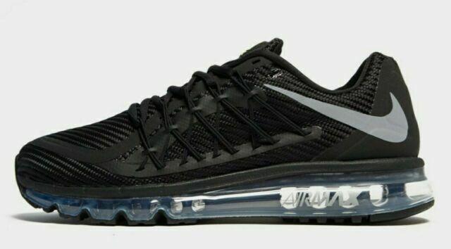 Size 11.5 - Nike Air Max 2015 Black Wolf Gray