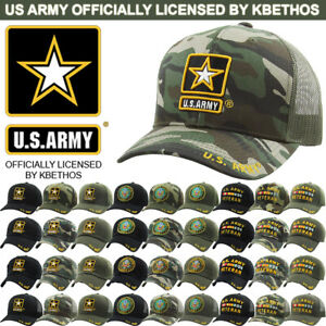 ARMY hat Military ARMY STRONG VETERAN Official Licensed Baseball cap Olive U.S