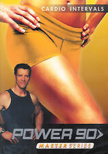 Power 90 Master Series Cardio Intervals with Tony Horton New Factory Sealed DVD