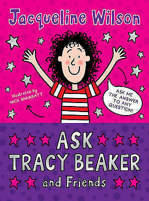 """""""AS NEW"""" Ask Tracy Beaker and Friends, Wilson, Jacqueline, Book"""