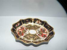 ROYAL CROWN DERBY TRADITIONAL IMARI c1933 miniature tray scalloped porcelain
