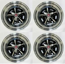 New Ford Mustang Magnum 500 Wheels 15 X 7 Set Complete With Caps Nuts Spinners Fits Mustang