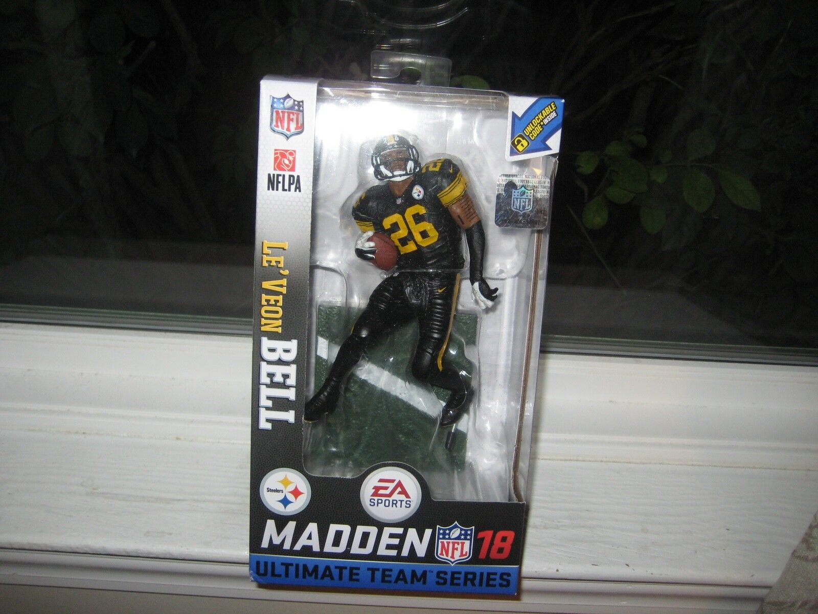 MCFARLANE EA SPORTS fattoN NFL 18'LE'VEON BELL CHASE VARIANT Coloreee RUSSO STEELER
