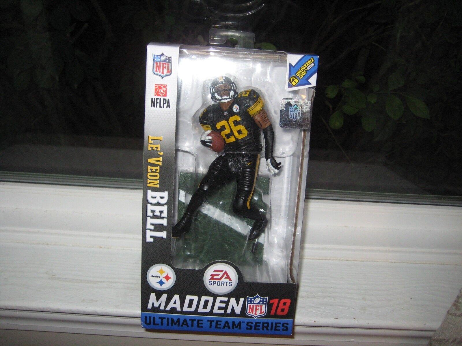 Mcferrane EA Sports manden manden manden - NFL 18 - le 'veon Bel Chase Color Rush Steel 83f