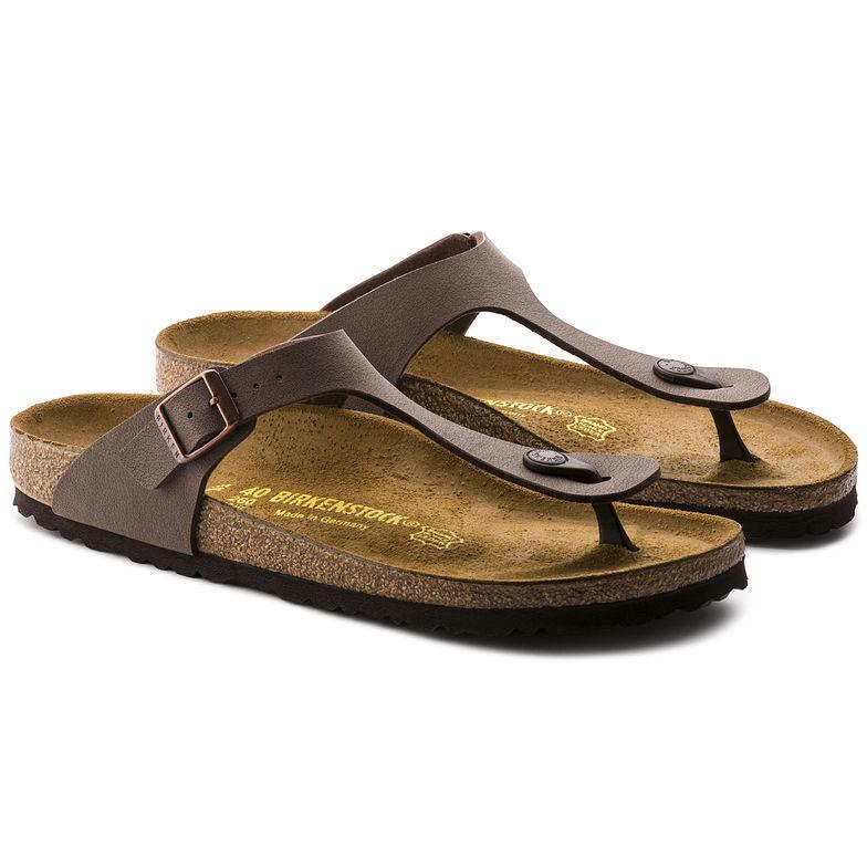 Birkenstock Gizeh Mocha (043751) Birko-Flor Leder Sandales Unisex Sandale
