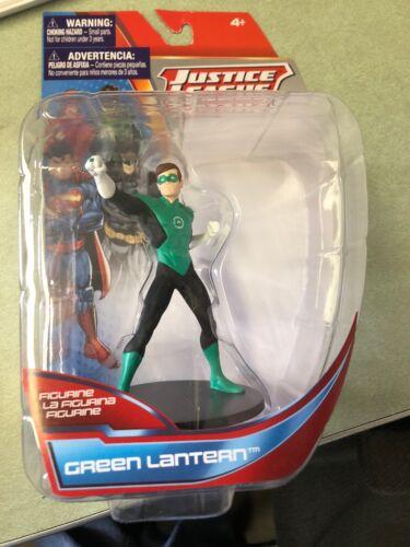 "DC Comics Justice League Green Lantern 4"" Collectable Super Hero Figurine NIP"