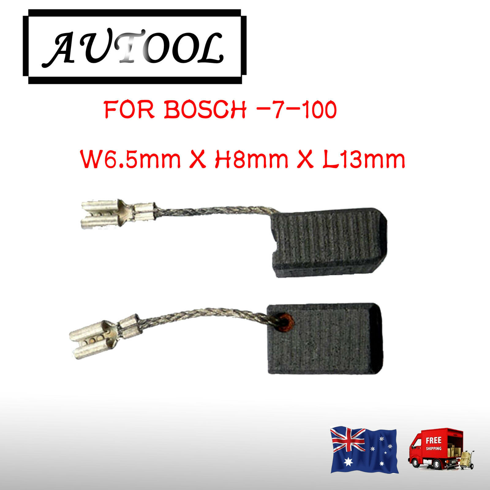 gaixample.org 2.0x3.1x7.1 5x8x18mm Carbon Brushes for Bosch PWS 7 ...