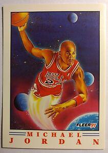 1991-91-FLEER-PRO-VISIONS-Michael-Jordan-2-A-034-TOP-10-034-JORDAN-INSERT-Sharp