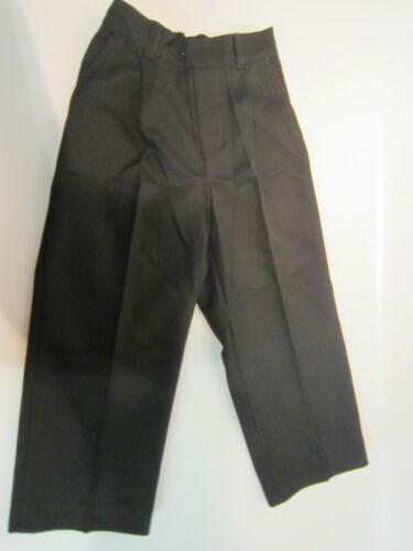 Ragazzi Back To School Nero Pantaloni 30234 o 460-elastico e non elastico in vita