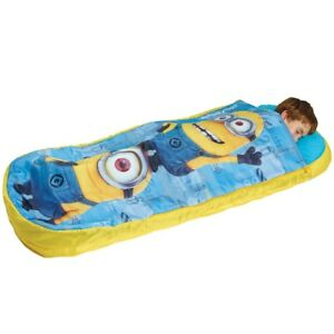 New Dispicable Me Minions Readybed Kids Sleeping Bag Inflatable Air