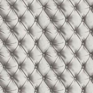 desire chesterfield effet cuir papier peint argent arthouse 618104 ebay. Black Bedroom Furniture Sets. Home Design Ideas