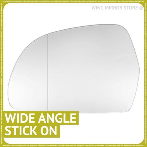 Mano Izquierda Lado Pasajero Para AUDI A5 2007-2009 Ala Espejo De Cristal Gran Angular