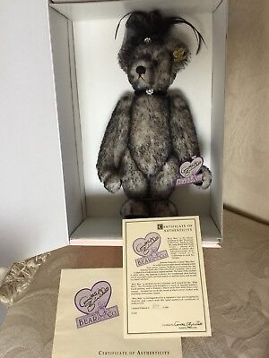 "miss Mae Collectible Bear Knowledgeable Retired 12"" Annette Funicello New In Box Curing Cough And Facilitating Expectoration And Relieving Hoarseness"